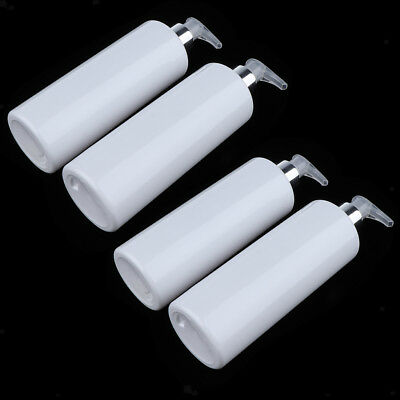 4x Large Cosmetic Bottles Shampoo Empty Lotion Container Pressed Pump Bottle