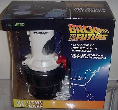 Back to the Future ****Mr. Fusion Car Charger USB / (NEW)
