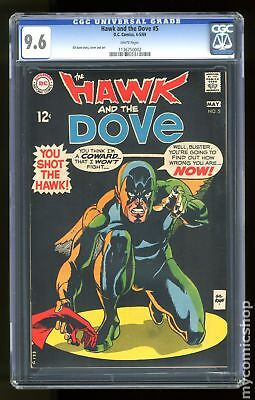 Hawk and Dove (1st Series) #5 1969 CGC 9.6 1136750002