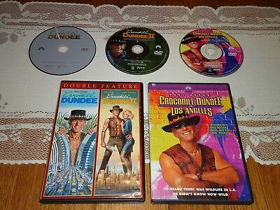 Crocodile Dundee 1 2 3 Triple Feature Trilogy (3 DVD Widescreen Set)