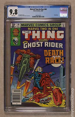 Marvel Two-in-One (1st Series) #80 1981 CGC 9.8 1497151011