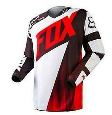 FOX MOTOCROSS JERSEY NEW! Honda Red S, Med Lg XL 2XL Motorcross Dirt bike MX