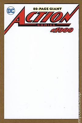 Action Comics (3rd Series) #1000 2018 Blank Variant VF+ 8.5