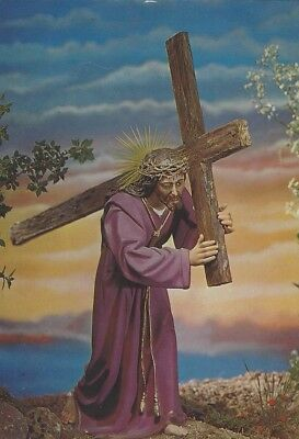 Lot of 100 Postcards Christ with cross / Cristo con la Cruz Catholic Print Image