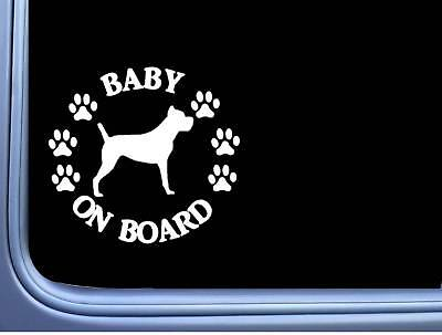 "Baby on Board Cane Corso L531 6"" Sticker dog decal"