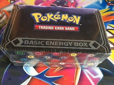 Pokemon Basic Energy Box (450 Mixed Energy Cards for Pokemon TCG) Sealed/New/UK