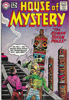 House Of Mystery #126 Silver Age DC Comics F-