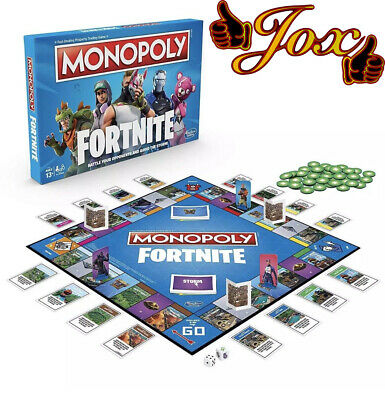 Fortnite Monopoly Board Game - Brand New & Sealed FREE DELIVERY