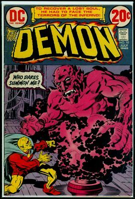 DC Comics The DEMON #10 FN- 5.5