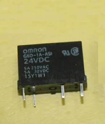 G6D-1A-ASI-5DC  OMRON  Relais  Relay  SPST-NO  1xA  5VDC  5A  NEW  #BP 1 pc