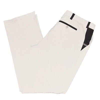 Masters Golf Fashion by Alaska Men's Pants White Size Euro 58 38 x 34