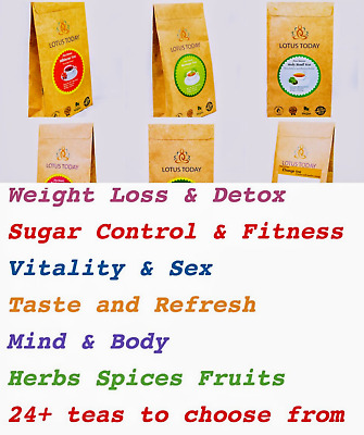 Best Herbal Detox Laxative Weight Loss tea 20 bags | choose from 24 + Selection