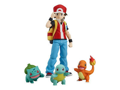 Good Smile Max Factory Pokemon figma Red Action Figure Authentic USA Seller NEW