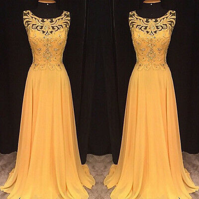 Women Lace Long Ball Gown Prom Formal Dress Wedding Party Cocktail Evening Skirt