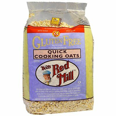 Bob s Red Mill Quick Cooking Oats Gluten Free 32 oz 907 g Dairy-Free,