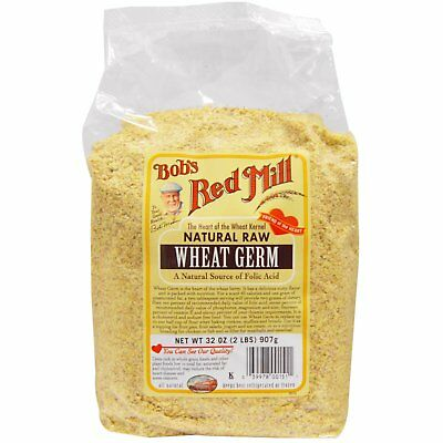 Bob s Red Mill Natural Raw Wheat Germ 32 oz 907 g All-Natural, Kosher, Raw