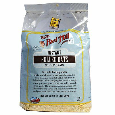Bob s Red Mill  Instant Rolled Oats  Whole Grain  32 oz  907 g