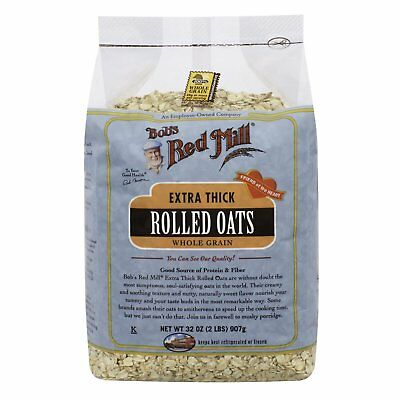 Bob s Red Mill  Extra Thick Rolled Oats  32 oz  907 g
