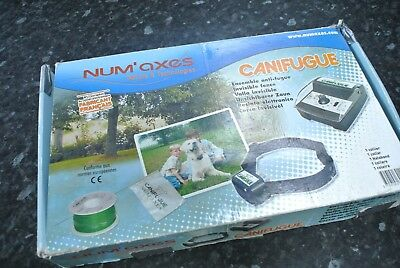 NUM'AXES CANIFUGE High Quality DOG CONTAINMENT ELECTRIC FENCE System 100m