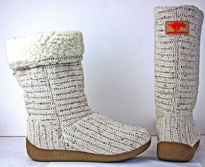 Rocket Dog Womens Winter Boots size 6 M Honeypup Cable Knit LockA FW329
