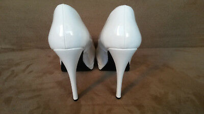 189613152b95 HIGH HEELS PLATEAU Peeptoe Pumps Bordello weiss Gr.42 - EUR 44,50 ...