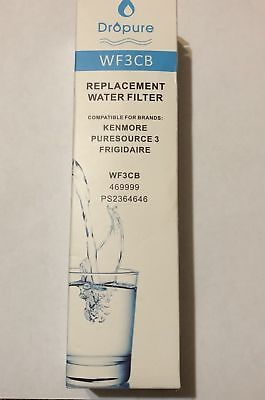 Dropure Replacement Water Filter ULTRAWF for Frigidaire Kenmore 469999 PS236464