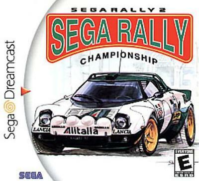 Sega Video Game Sega Rally 2 - Championship NM