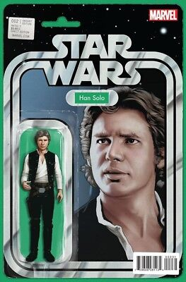 Star Wars #2 Action Figure Variant Near Mint Marvel Now