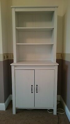Ikea Brusali High Cabinet White Excellent Condition