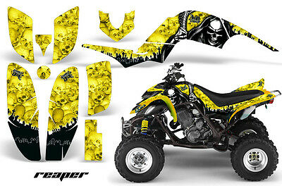 ATV Decal Graphic Kit Quad Sticker Wrap For Yamaha Raptor 660 2001-2005 REAPER Y