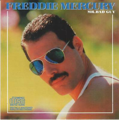 FREDDIE MERCURY (Queen) - MR. BAD GUY (1985) Pop Rock CD Jewel Case+FREE GIFT