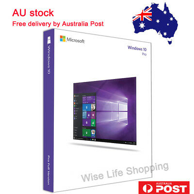 (Sale !!) Windows 10 Pro 32 and 64 Bit USB With Product Key for 1 PC