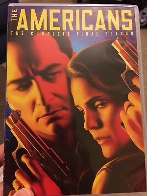 The Americans: The Complete Final Season 6 (DVD, 2018, 3-Disc Set) Viewed Once