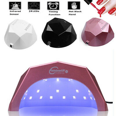 48W Professional UV Nail Dryer And Nail Lamp Light For Gel With Timer