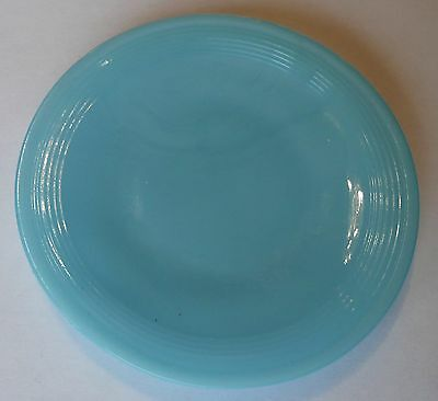 Akro Agate Small Concentric Ring/Stacked Disc Glass Turquoise Plate~ 4 Available