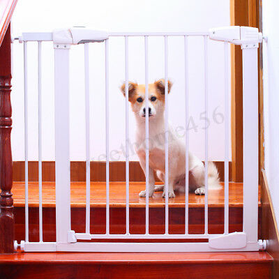 """Indoor Dog Pet Cat Safety Gate Door Extension Stairs Iron Fence Tools Height 30"""""""