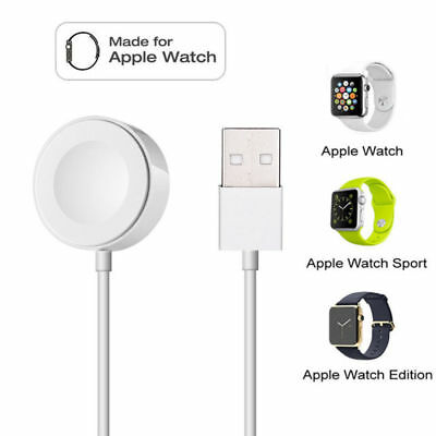 Magnetic Charger Charging Cable For Apple Watch iWatch Series 1 2 3 4 38/42mm