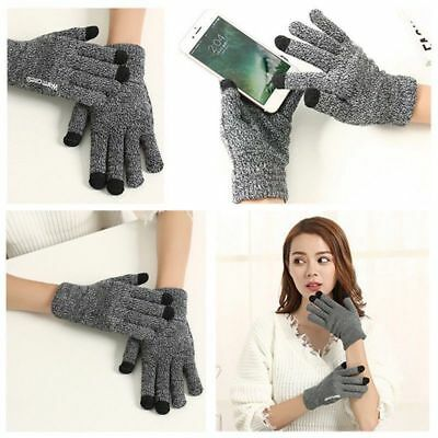 Thermal Insulation Touch Screen Winter Warm Gloves For Smartphone Luxury