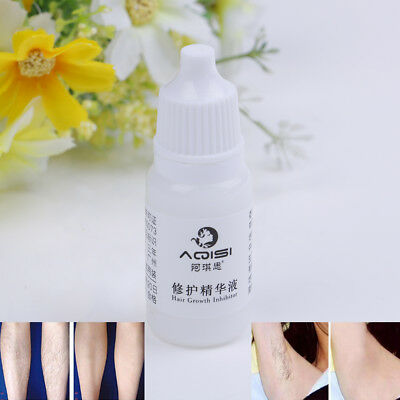 Women 10Ml Aqisi Permanent Hair Growth Inhibitor Hair Removal Repair Essence FT