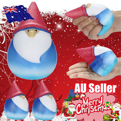 Squishies Galaxy Santa Claus Christmas Toy Slow Rising Fruits Scented Stress ON