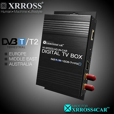 XRROSS Car Digital TV Receiver Antenna DVBT/2 H265 Europe/Middle East/Australia