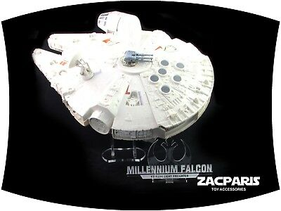 Display stand for Vintage Star Wars Millennium Falcon - Angled stand , So COOL!