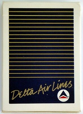 Vintage Delta Airlines Playing Cards Blue New A