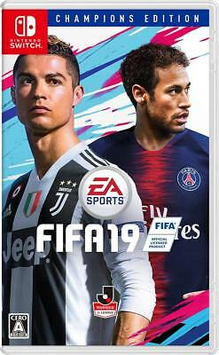 NEW Nintendo Switch FIFA 19 CHAMPIONS EDITION JAPAN import Japanese game