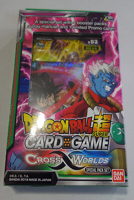 DRAGON BALL SUPER Cross Worlds Special Pack sp03
