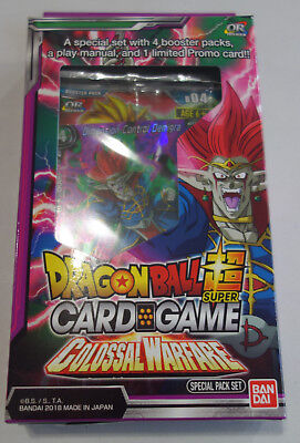 DRAGON BALL SUPER Colossal Warfare Special Pack sp04