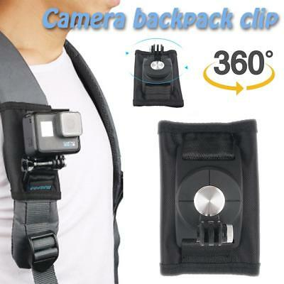 Sports Bracket Backpack Bag Clip Clamp Buckle Mount For Gopro Hero 6/5/4 Camera