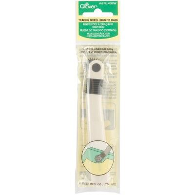 Clover Tracing Wheel-serrated Edge