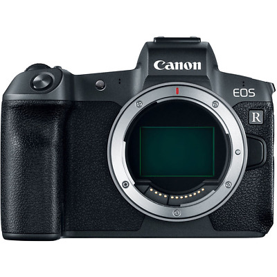 Canon EOS R Full Frame Digital Mirrorless Camera Body with EF Adapter