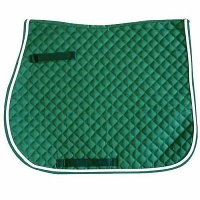Intrepid International NEW Quilted All Purpose Saddle Pad Cotton Wither Relief